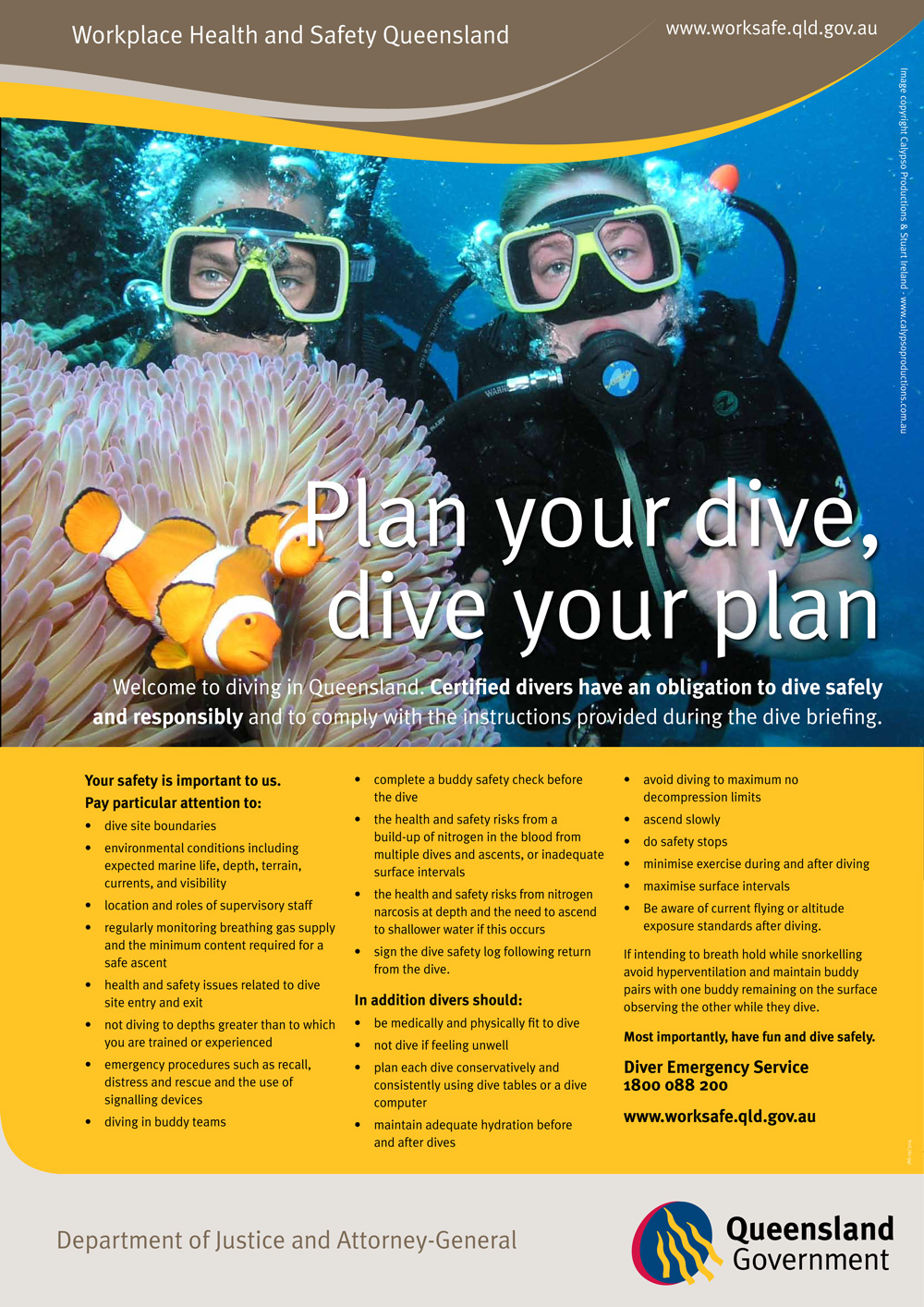 Plan Your Dive, Dive Your Plan
